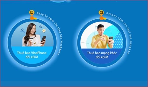 Cách đổi eSim Vinaphone miễn phí