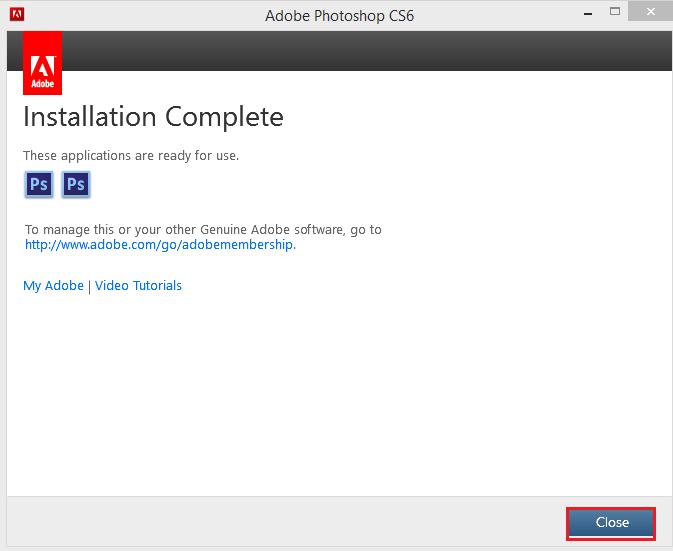 Cách tải và cài đặt Photoshop CS6 miễn phí