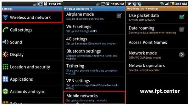 Cách tăng tốc độ mạng 3G/4G Mobifone, Vinaphone, Viettel