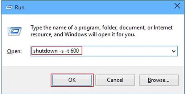 Cách hẹn giờ tắt máy tính trên Windows 10 bằng lệnh, phần mềm