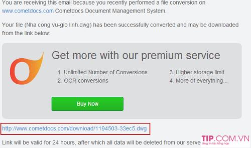 Cách chuyển file PDF sang Autocad miễn phí