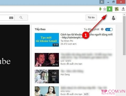 Cách tải Video trên Youtube bằng Cốc Cốc