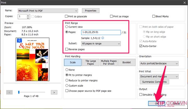 Cách xóa trang PDF trong file PDF