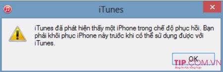 Cách mở khóa iPhone do nhập sai mật khẩu