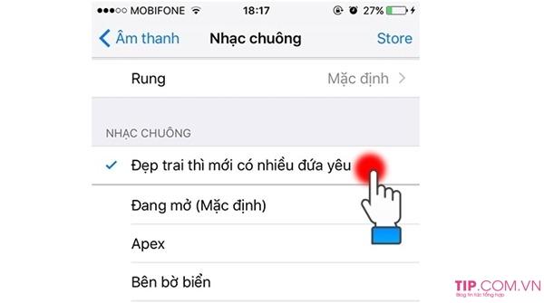 Cách tải nhạc chuông cho iPhone