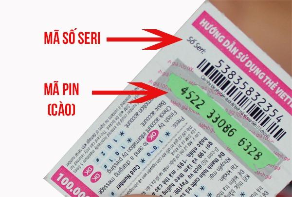 Lấy lại mã thẻ cào Viettel bằng số Seri khi gọi đến tổng đài Viettel