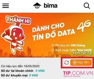 Cách nạp tiền Vietnamobile, nạp card thẻ cào điện thoại Vietnamobile trả trước