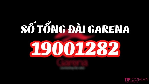 Số tổng đài Garena việt nam