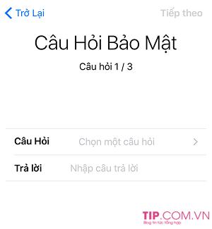 Hướng dẫn cách tạo ID Apple bằng iPhone đơn giản trong 3 phút