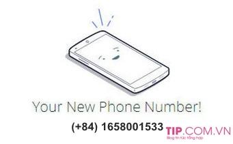 Cách tạo số điện thoại ảo +84 Việt Nam để nhận tin nhắn kích hoạt miễn phí