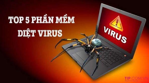 Top 5 phần mềm diệt virus miễn phí trên máy tính