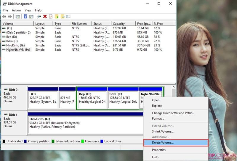 Cách Chia/Gộp ổ đĩa trên Windows 7, 8, 10 không mất dữ liệu