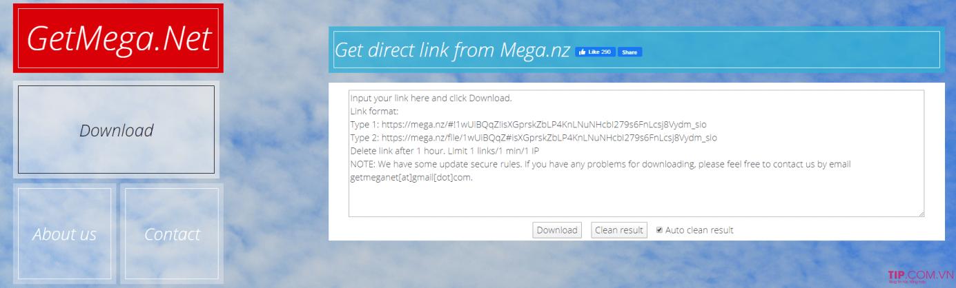 Hướng dẫn cách get link Mega tốc độ cao Max Speed
