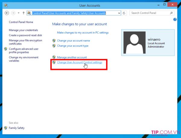 3 Cách Tắt User Account Control trên Windows 10, Windows 8 đơn giản nhất