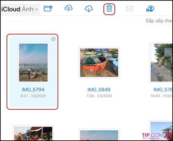 Hướng dẫn cách xoá ảnh sao lưu trên iCloud cho iPhone, Ipad nhanh nhất