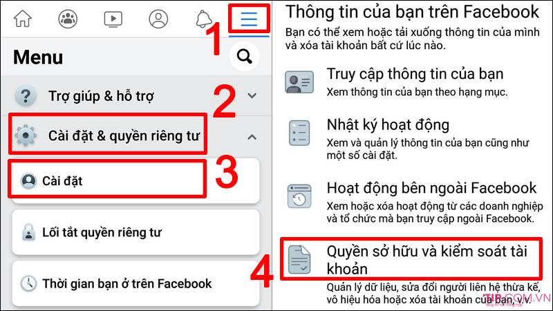 Cách xóa tài khoản Facebook vĩnh viễn trên điện thoại, máy tính, Laptop