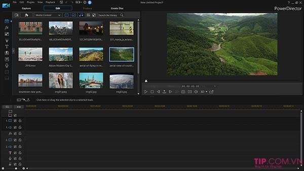Phần mềm làm video CyberLink PowerDirector