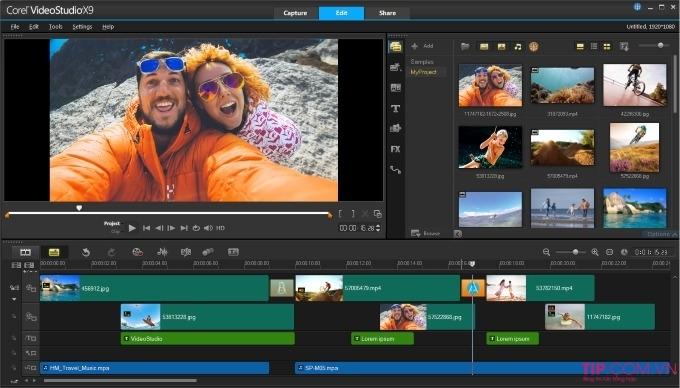 Phần mềm làm video Core Video Studio