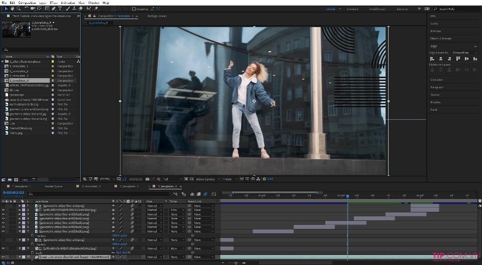 Phần mềm làm videoAdobe After Effect