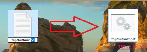 Cách hiện đuôi tập tin hoặc sửa đuôi file trên Windows 10
