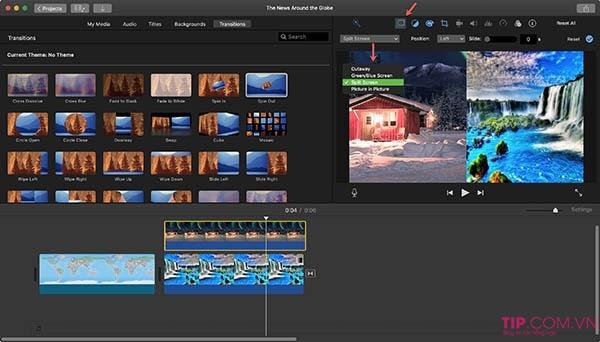 iMovie - Phần mềm làm video cho Mac OS