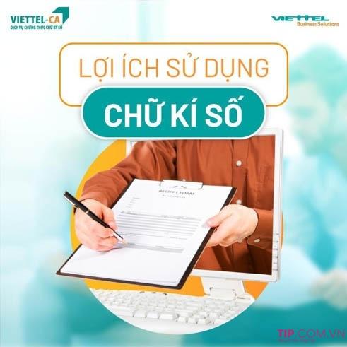 Lợi ích khi sử dụng chữ ký số Viettel