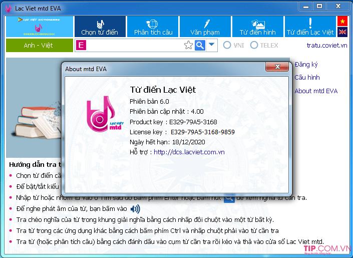 [Download] Tải từ điển Lạc Việt 2020 Full Crack + Key mới nhất 2021 17