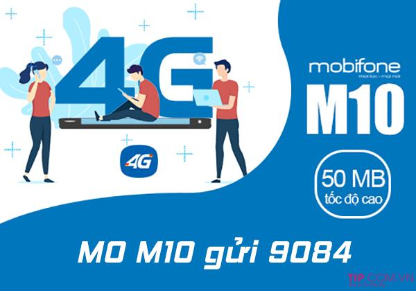 Cách đăng ký gói M10 Mobifone có ngay 50MB giá chỉ 10.000đ