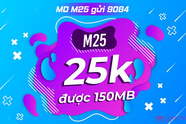 Cách đăng ký gói M10 Mobifone miễn phí 150MB data dùng thả ga 30 ngày