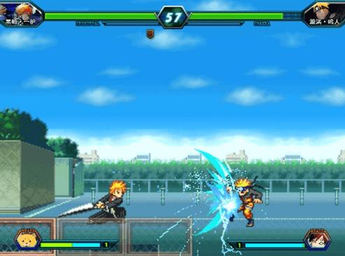 Chơi game Bleach vs Naruto 3.0 : Naruto 3.0 Online