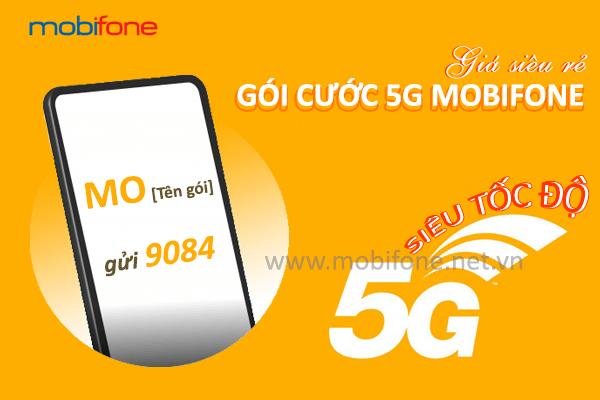 Bảng giá các gói cước 5G Mobifone giá rẻ mới nhất data khủng