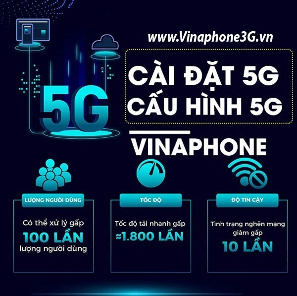Cách đăng ký gói cước 5G Vinaphone 1 ngày, 1 tháng, 1 năm