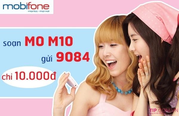Cách đăng ký gói M10 Mobifone chỉ 10.000đ có ngay 50MB data