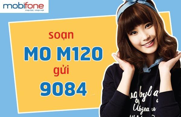 Cách đăng ký gói M120 Mobifone có ngay 8,8GB data chỉ với 120.000đ/tháng