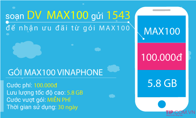 Cách đăng ký gói cước MAXs Vinaphone