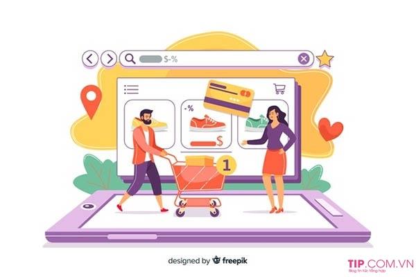 Khái niệm về website bán hàng
