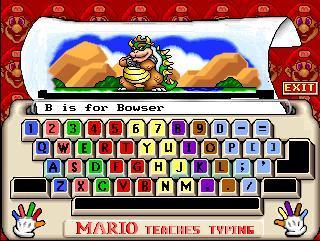 Mario Teaches Typing – Phần mềm gõ 10 ngón cho trẻ em miễn phí