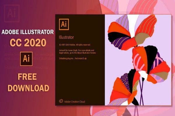 Cách tải Adobe Illustrator CC 2020 miễn phí full crack