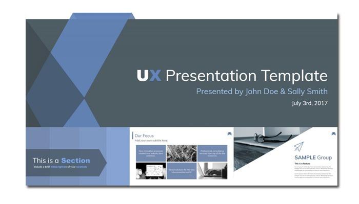 Mẫu bản thuyết trình Google Slides power point hiện đại