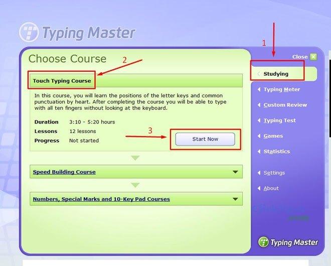 TypingMaster – Phần mềm gõ 10 ngón miễn phí tốt nhất